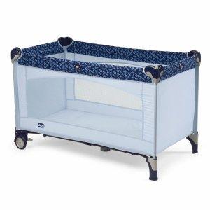 Манеж-кровать Chicco Lullaby Travel Cot Gray